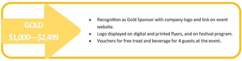 Gold Level Sponsorship for Hope Fest 4 Hunger